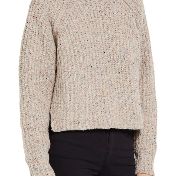 80f547c052a Isabel Marant Sweaters   Etoile Happy Ribbed Sweater In Beige   Poshmark